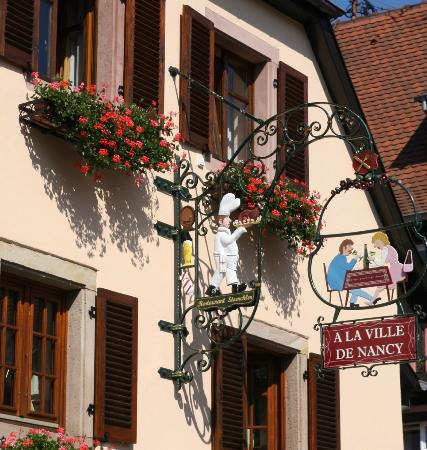 A la ville de nancy eguisheim restaurant avis num ro de t l phone photos tripadvisor - Piscine pierrelaye nancy ...