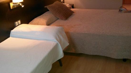 Spa Hotel Ciudad de Teruel: cama supletoria