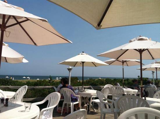 27 Fair Street Inn: View from beach bar.