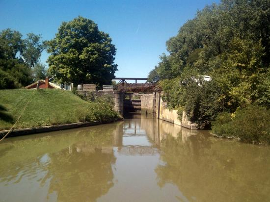 Grand Rapids, OH: Lock #44 on the Miami Erie Canal