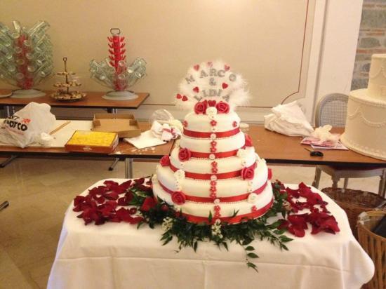Bar Pasticceria Gelè: weddin cake