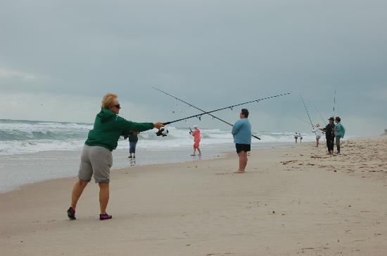 Barrier Island Center : surf fishing clinic