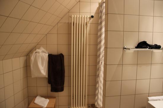 Hotel A la Cour d'Alsace : Salle de bain