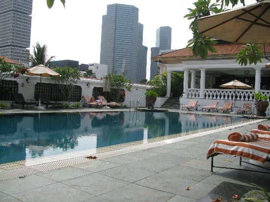 Pool Picture Of Raffles Hotel Singapore Singapore Tripadvisor