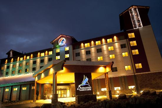 Swinomish Casino & Lodge: Hotel Exterior