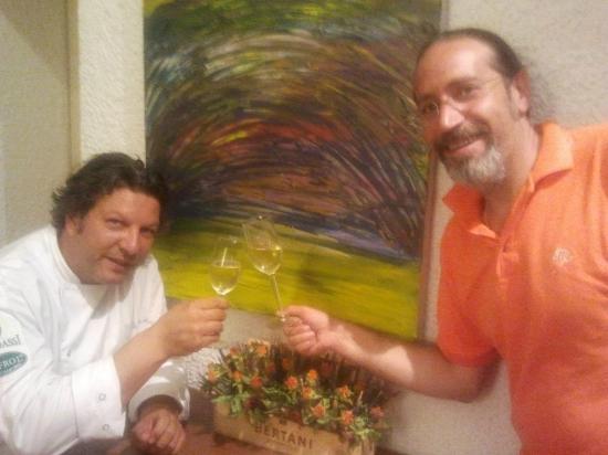 La Locanda del Capitano: Giancarlo Polito un artista a 360 gradi....non solo un grande chef...ma anche un maestro di pitt
