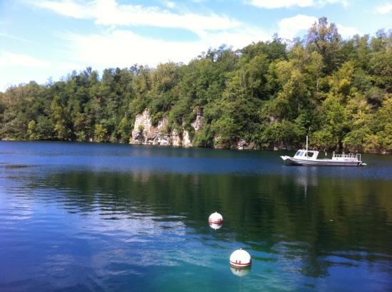 Mermet Springs Scuba: Beautiful lake