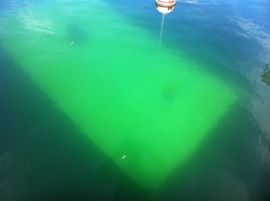 Mermet Springs Scuba: Dive platform at 15 ft