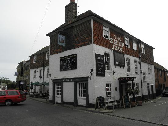 The Ship Inn: View from the outside