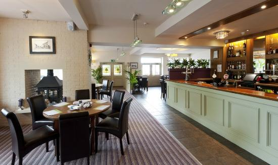 The New Holly Country Pub & Inn: New Bar area after newly opened on 17.8.12