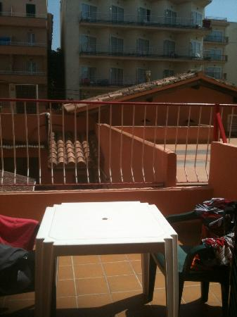 Bari: balcony view