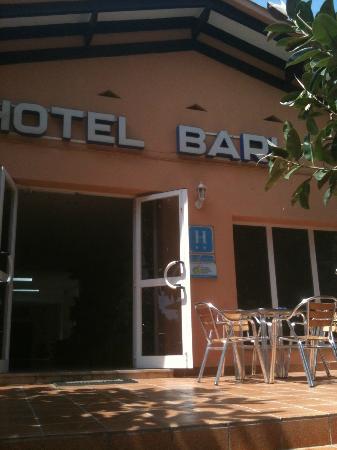 Bari: hotel terrace