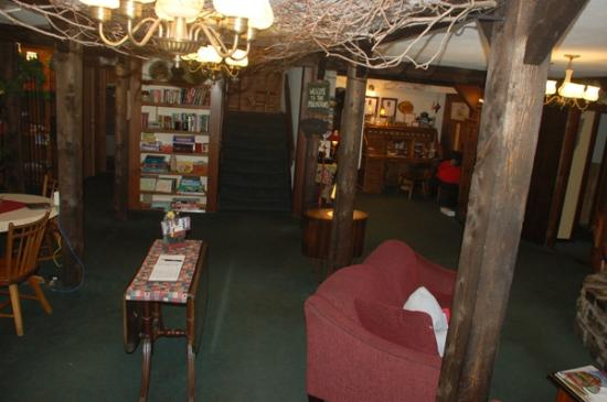 Lotus Lodge Inn: Ancient and smelly lobby