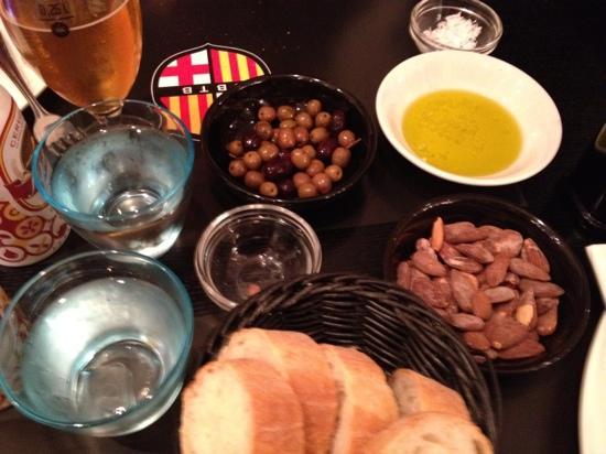 CANblau: første del af menu 1