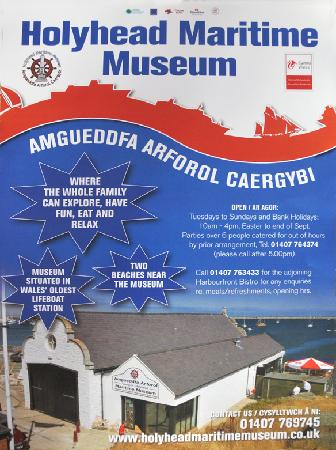 Holyhead Maritime Museum: Museum Poster