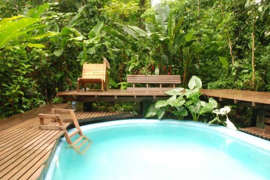 La Kukula Lodge: Swimmingpool within the jungle / Piscina en la selva