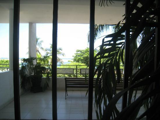 Park Hotel: Blick aus dem Fenster