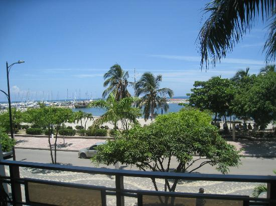 Park Hotel: Blick vom Hotelbalkon