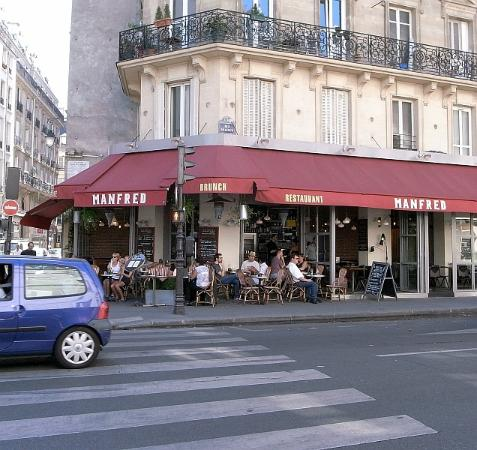 Manfred Restaurant Paris