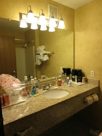 Days Inn & Suites Vancouver: bathroom