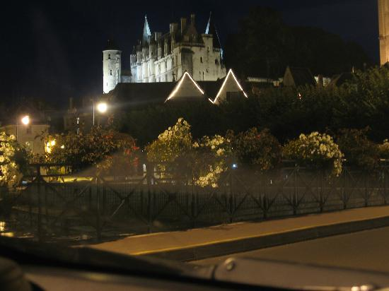 Le Moulin de la Follaine: The castle from Loches, at 15-20 mins driving