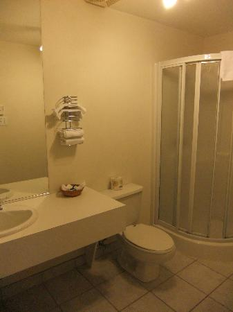 Hotel Bromont: salle de bain