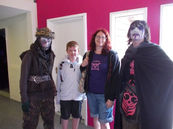 Silver Mountain Experience: meeting the ork and underground dweller