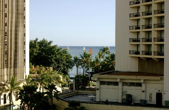 Stay Hotel Waikiki: View from our balcony