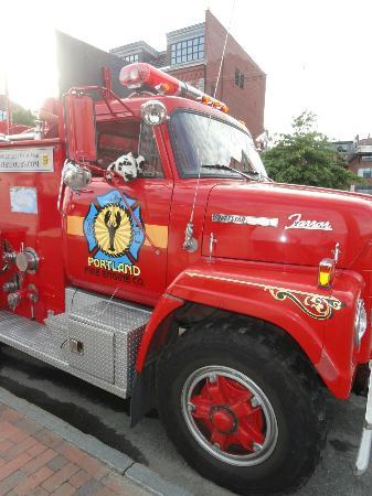 Fire Engine Tours Portland Maine