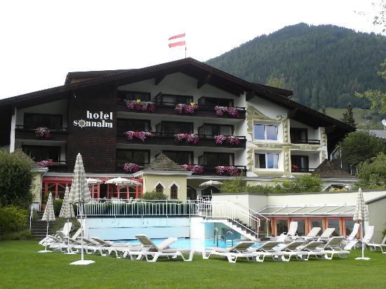 Hotel Sonnalm: FOTO DAL PARCO GIOCHI DELL' ALBERGO