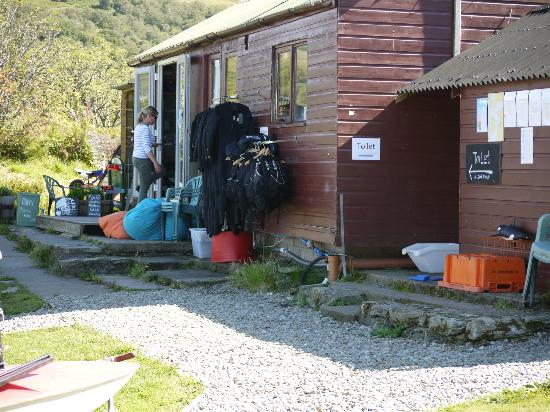 Craobh Haven Watersports: the pig shed cafe