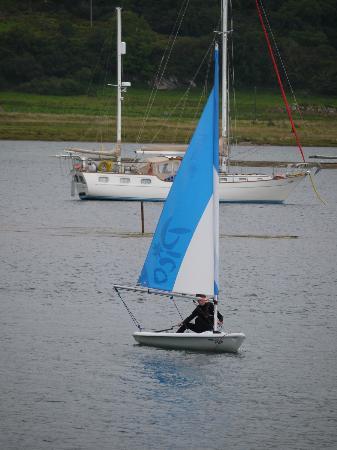 Craobh Haven Watersports: Pico sailing