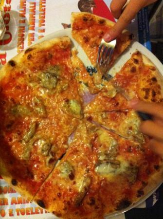 L'Ombelico del Mondo : pizza
