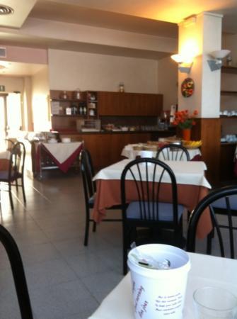 Hotel Cristallo: ontbijtbuffet