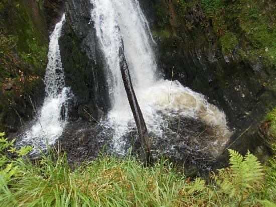 Devil's Bridge Falls: the waterfall