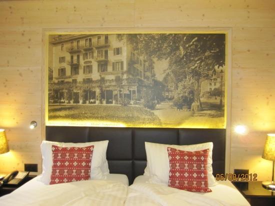 Hotel Interlaken: parents room