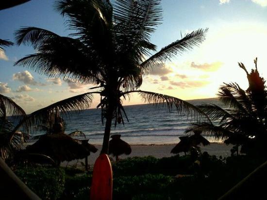 Zulum Beach Club + Cabanas : Vista desde mi habitación