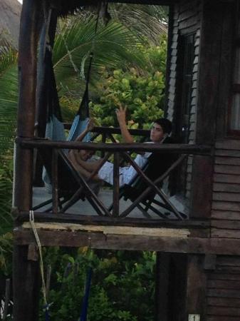 Zulum Beach Club + Cabanas : Terraza