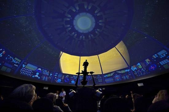 Espaco Do Conhecimento UFMG: Filme no Planetário