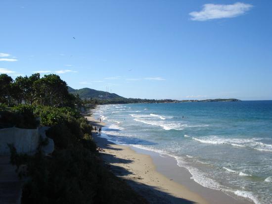 IKIN Margarita Hotel & Spa: Playa cardon - mucho más tranquila que playa parguito/guacuco/el agua