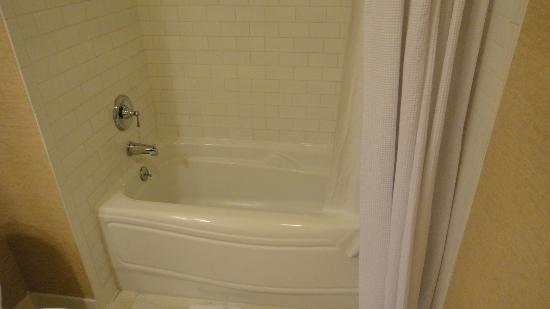 Fairfield Inn & Suites Albany Downtown: bathroom tub