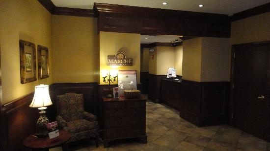 Fairfield Inn & Suites Albany Downtown: Lobby area