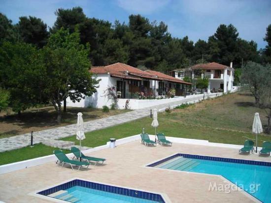 Magda Apartments Koukounaries Grekland Omd Men Och