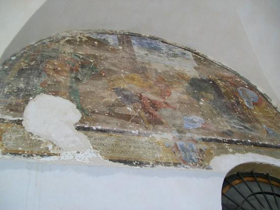 Il Chiostro di Bevagna: Fresco at Il Chiostro