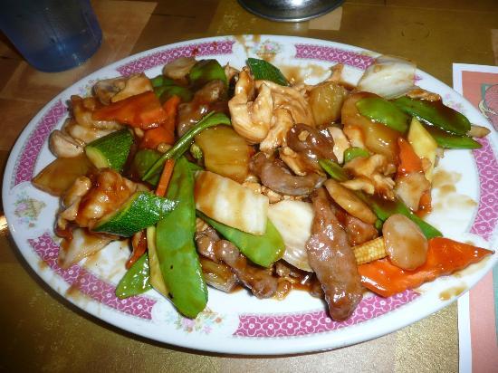 Mapleleaves Garden Chinese: Hawaiian Triple Delight