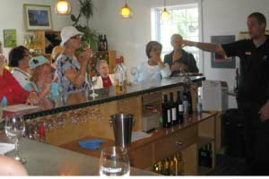Pelee Island Winery : wine tasting Pelee Island