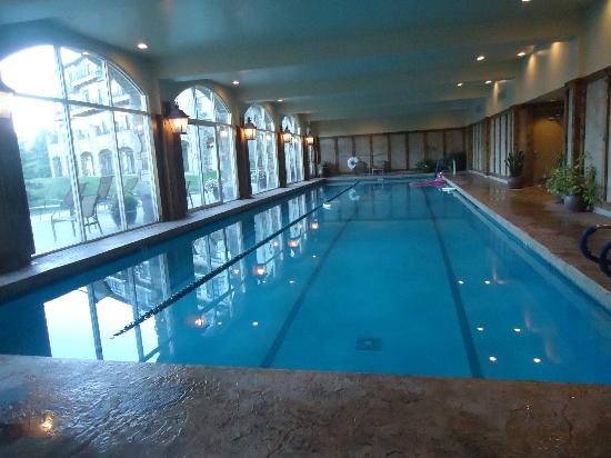 Lodge & Spa at Cordillera: Indoor pool