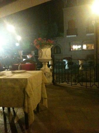 Avigliana, Italia: la terrazza.