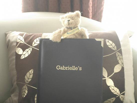 Gabrielle's Hotel: OUR LITTLE TED ENJOYING GABRIELLES