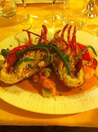 Le Cabestan : homard et ses légumes